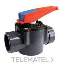 Válvula compuerta rotativo 2 vías diámetro 50-63 con referencia 16059 de la marca CEPEX.