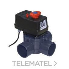 VALVULA COMPUERTA ROTATIVO AUTOMATICO 3 VIAS DIAMETRO 50-63 con referencia 41863 de la marca CEPEX.