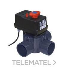 VALVULA COMPUERTA ROTATIVO AUTOMATICO 3 VIAS DIAMETRO 63-75 24V CORRIENTE ALTERNA con referencia 43730 de la marca CEPEX.