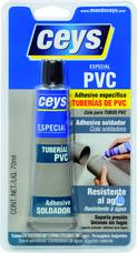 Adhesivo CEYS tuberías PVC 70ml (blíster) con referencia 501029 de la marca CEYS.