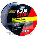 Banda impermeabilizante butílica AGUA STOP 10cm gris 10m (bolsa) con referencia 901005 de la marca CEYS.