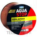 Banda impermeabilizante butílica AGUA STOP 10cm teja 10m (bolsa) con referencia 901006 de la marca CEYS.