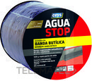 Banda impermeabilizante butílica AGUA STOP 15cm gris 10m (bolsa) con referencia 901004 de la marca CEYS.