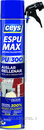 Espuma de poliuretano ESPUMAX para aislar y rellenar 750ml (aerosol) con referencia 504802 de la marca CEYS.