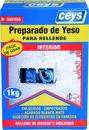 Yeso CEYS para rellenos 1Kg (caja) con referencia 502507 de la marca CEYS.