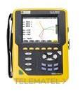 Analizador de redes y armónicos CA8333 Qualistar+ Cat.IV 600V sin pinzas de corriente con referencia P01160541 de la marca CHAUVIN ARNOUX.