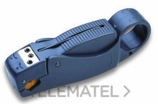 CIMCO 120098 PELACABLES PARA CABLES COAXIALES ECONOMY