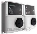 Caja de recarga inteligente 2 tomas RVE-WB-MIX-SMART-TRI con referencia V23325. de la marca CIRCUTOR.