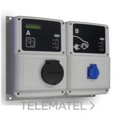 Caja de recarga inteligente 2 tomas RVE-WB-MIX-SMART con referencia V23315. de la marca CIRCUTOR.