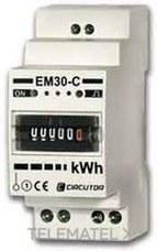 CIRCUTOR M30811. CONTADOR EM30-C MONO KW 5A 2 MOD.