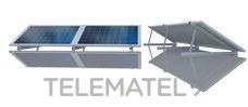 Estructura para cubierta plana con 3 módulos horizontales con referencia EEH203. de la marca CIRCUTOR.