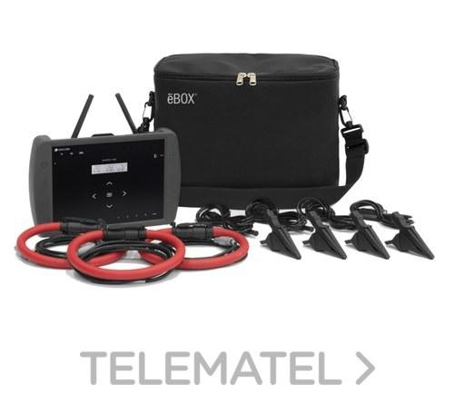 Kit analizador KITB MYEBOX 1500+3 REDFLEX80 con sensor de corriente con referencia M8405D. de la marca CIRCUTOR.