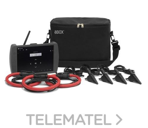 Kit analizador KITB MYeBOX150+3 REDFLEX45 con sensor de corriente con referencia M8404B. de la marca CIRCUTOR.
