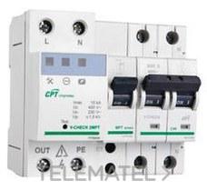CIRPROTEC 77706452 Protector V-CHECK 2MPT-32 para línea monofásico
