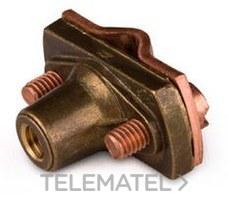 1x Klemmkabelschuh 16-25 mm M 10 Blitzschutzbereich Bronzeschrauben