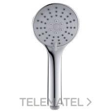 CLEVER 99615 Teléfono para ducha ABS de con un diámetro de 100 3f City Air