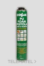 COLLAK 310750PF ESPUMA PUR FOAM 750ml aplicacion con pistola.
