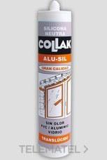 COLLAK 42301 SILICONA ALU-SIL TRANSLUCIDO 300ml