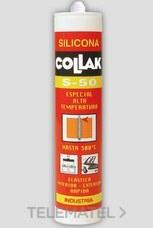 COLLAK 40904 SILICONA ESPC.S-50 ATMP.NG 300ml