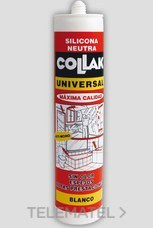 COLLAK 42101 SILICONA NEUTRO S-14 TRANSLUCIDO 300ml