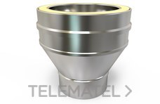 Adaptador caldera cónico TWPro diámetro 150 con referencia KWAD15150 de la marca CONVESA.