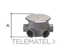 CREARPLAST 061140 Bote sifónico PVC C-140-B 110mm extracorto extensible
