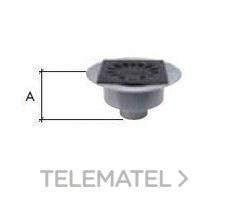 CALDERETA SIFONICA VERTICAL PVC-PP 250x250 DIAMETRO 110 con referencia 145202 de la marca CREARPLAST.