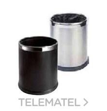 PAPELERA TRISELECTIVA 300x245 INOXIDABLE NEGRO con referencia 8991031 de la marca CREARPLAST.
