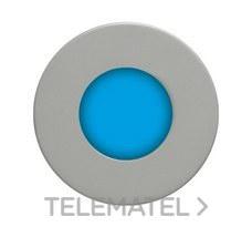 DAISALUX LYRA R/Z (INOX,OPAL,24V) Baliza Lyra R/Z led azul difusor opal 24 inoxidable