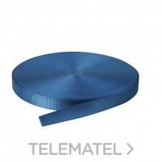 Cinta poliéster para trincaje CPT5000X100 azul 100m con referencia 09531821 de la marca DAMESA.