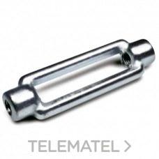 Cuerpo tensor cincado DIN 1480 CTS M27 con referencia 09521910 de la marca DAMESA.