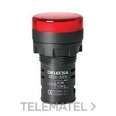 DELECSA 7022220A PILOTO D7022 220V AMBAR MULTI-LED
