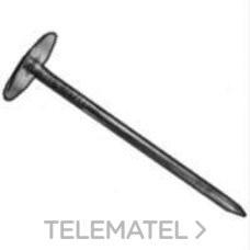 TACHA CIELO RASO ARANDELA 2,8x40x18 METALICA con referencia 23341 de la marca DEU.
