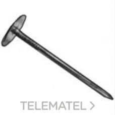 TACHA CIELO RASO CON ARANDELA 3,4x70x18 METALICA con referencia 23370 de la marca DEU.