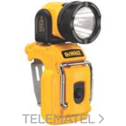 LINTERNA CABEZA ROTATIVA LED 10,8V con referencia DCL510N-XJ de la marca DEWALT.