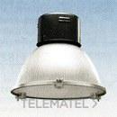 LUMINARIA INDUSTRIAL 1101LUCENTE MBF 400 NEGRO CRISTAL con referencia 32116200 de la marca DISANO.