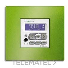 DOYSON 100016 Mando amplificador ABS S100FM LCD radio FM blanco