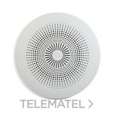 """DOYSON 100700 Rejilla RT5 con aro embellecedor ABS 5"""" blanco"""