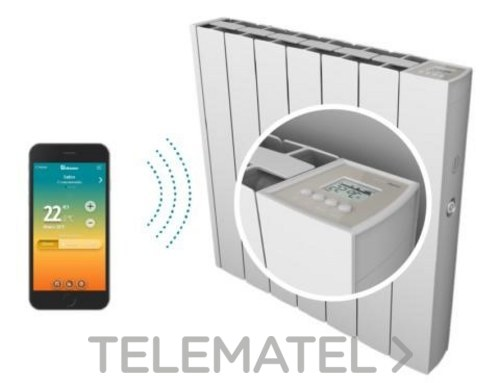 Radiador térmico iEM 3G Wifi 1800 58x106x9,8cm con referencia 0.637.376 de la marca DUCASA.