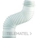 MANGUITO INODORO EXTENSIBLE+COMPRIMIDA/O 260-570mm con referencia 3197 de la marca DUCHAFLEX.