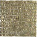 Mosaico EMPHASIS CAYMAN CHAMPAGNE, cristal oro brillo de 29,8x29,8cm con referencia 185643 de la marca DUNE.