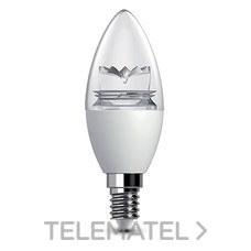 e14 450lm prisma clara led decorativa 5 5w Lámpara b6gyf7Y