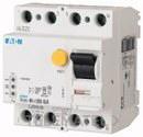 Interruptor diferencial modular FRCDM-63/4/003-G/A con referencia 168650 de la marca EATON.