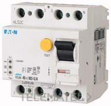 Interruptor diferencial modular FRCDM-80/4/03-U con referencia 168642 de la marca EATON.