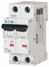 Interruptor magnetotérmco CLS6-C25/2-DE curva-C 2P 25A con referencia 247683 de la marca EATON.
