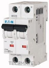 Interruptor magnetotérmco CLS6-C40/1N-DE curva-C 1P+N 4A con referencia 247651 de la marca EATON.