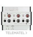 CENTRAL DOMOS2 CON 3 PROGRAMAS AUDIO+IR con referencia 40050 de la marca EGI.