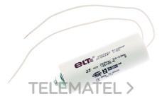 CONDENSADOR/A HID 50 µF ± 5% 250V. con referencia 9900031 de la marca ELT.