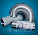 TUBO ESPIROFLEX ALUMINIO COMPACTO DIAMETRO 200 con referencia 02170200020 de la marca ESPIROFLEX.