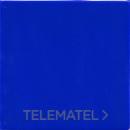 Baldosa ARQUITECTURA UNICOLOR azul cobalto mate de 20x20cm con referencia 10566 de la marca FABRESA.